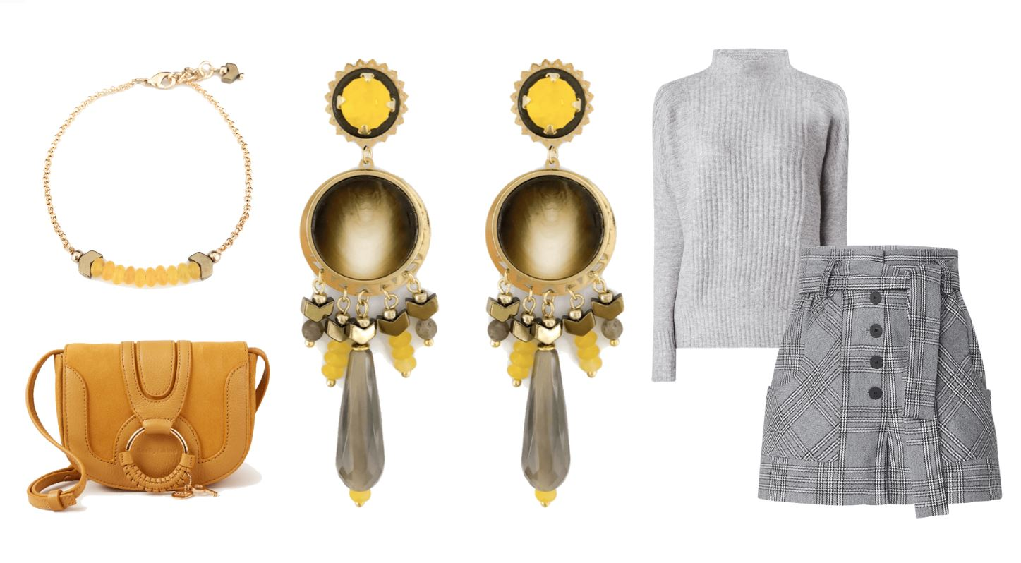 Shop the look – mellow yellow